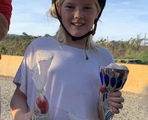 Ranch Siesta Los Rubios Most Improved Rider of the Month