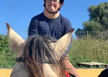 Ranch Siesta Los Rubios Estepona horse riding stables Aprona disabilities group visits