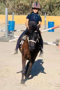 Ranch Siesta Los Rubios riding lessons for children in Estepona