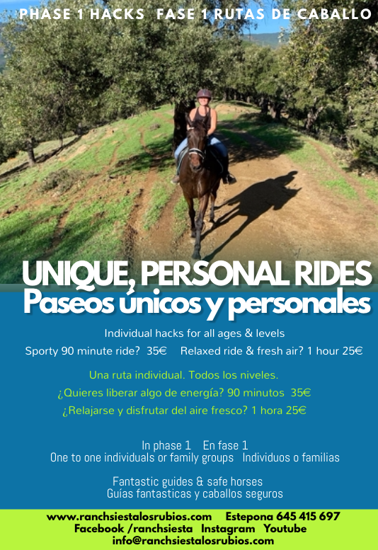 Horse riding near Estepona