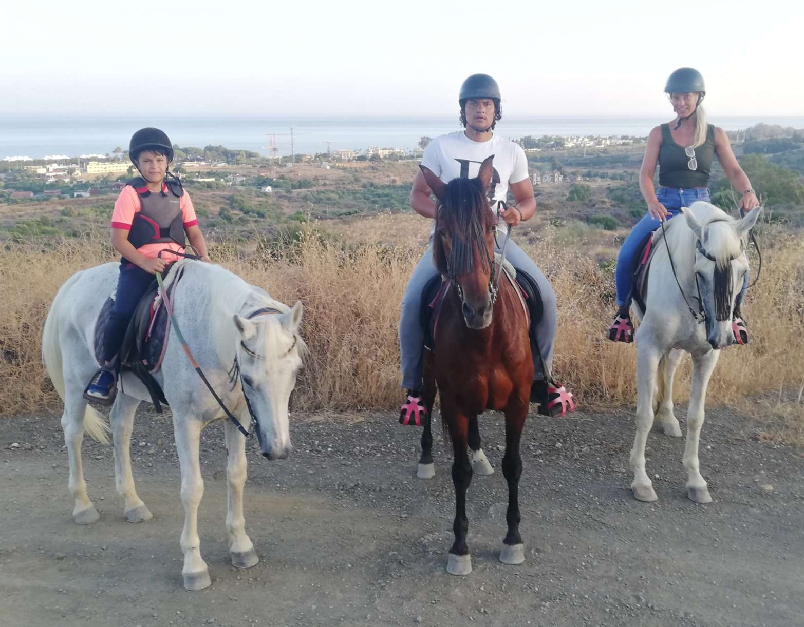 Ranch Siesta Los Rubios beginners horse riding in Estepona Saddle Up Experience