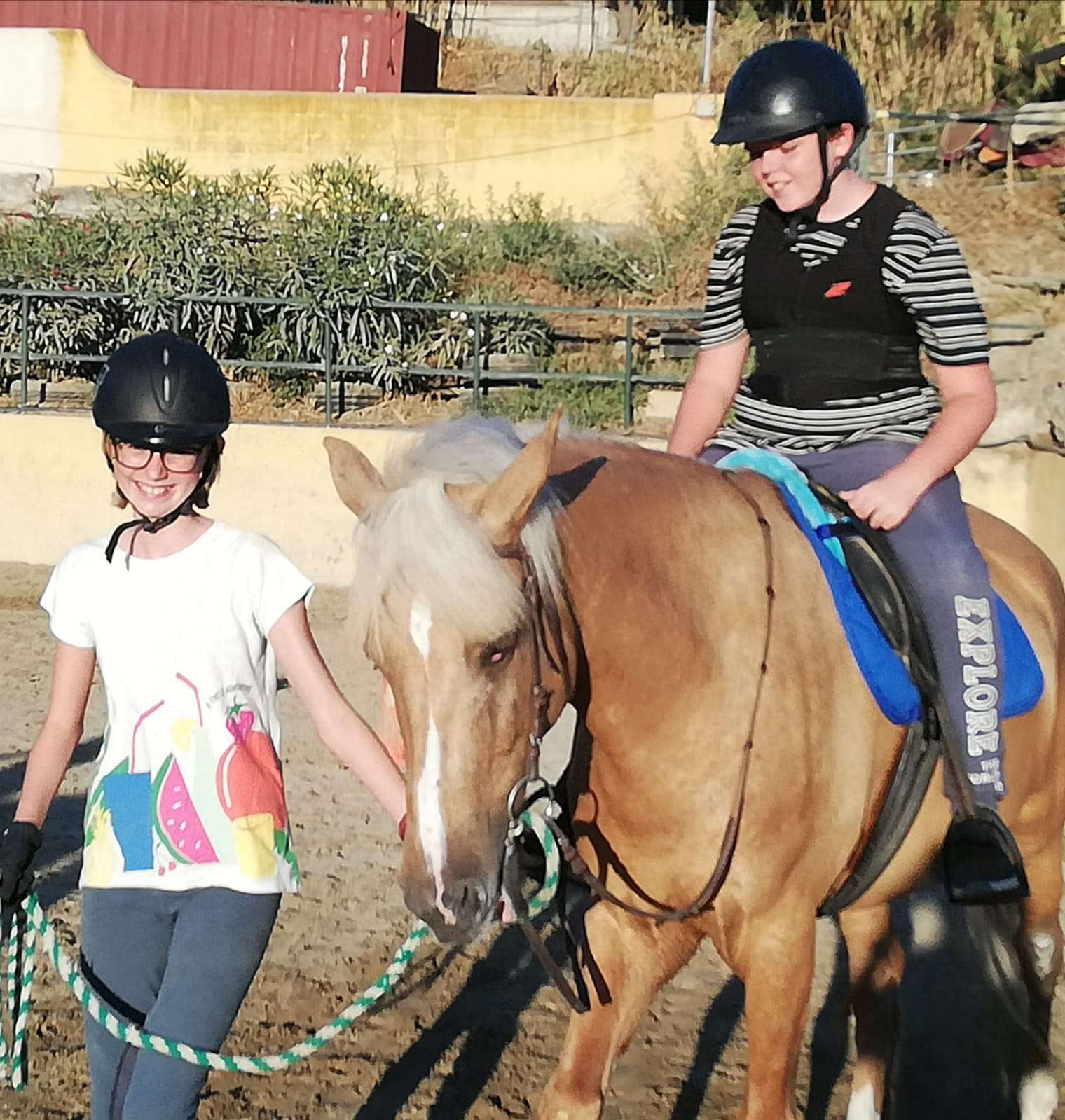 Birthday party fun at private pony party Ranch Siesta Los Rubios, Estepona