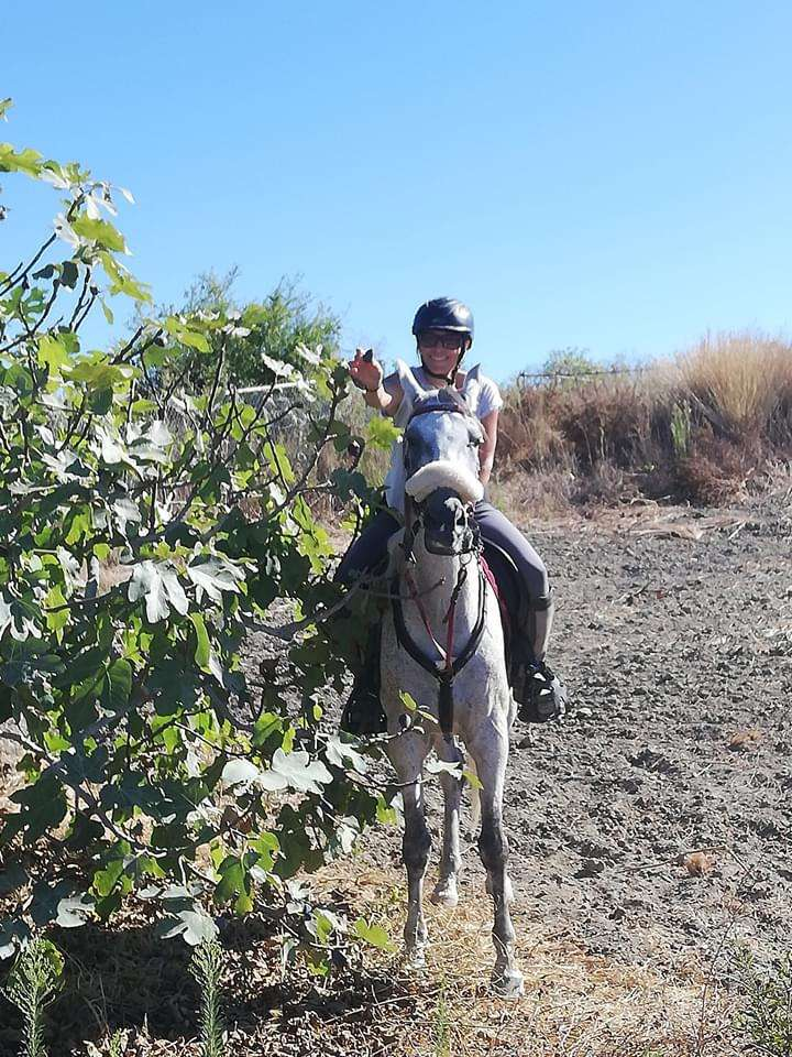 Happy horses and riders at Ranch Siesta Los Rubios Estepona
