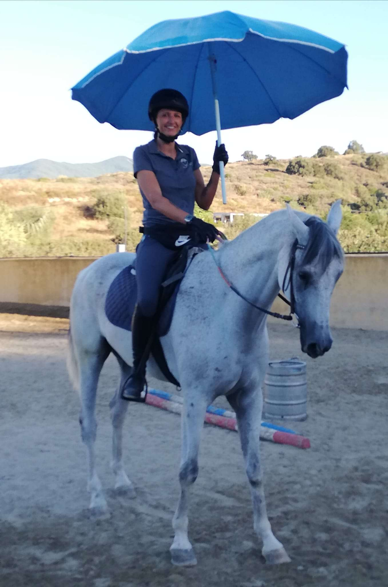 Photos of workshop at Ranch Siesta Los Rubios horse riding Estepona