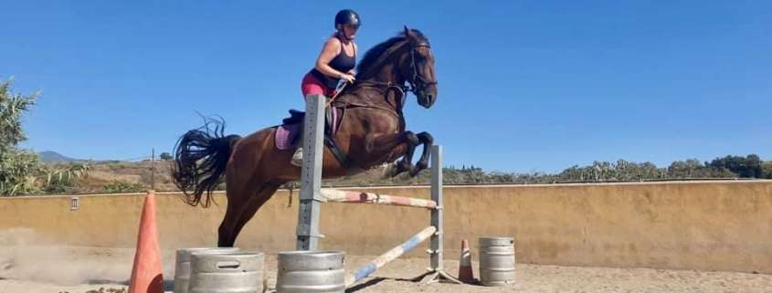 Learn to jump at Ranch Siesta Los Rubios Estepona