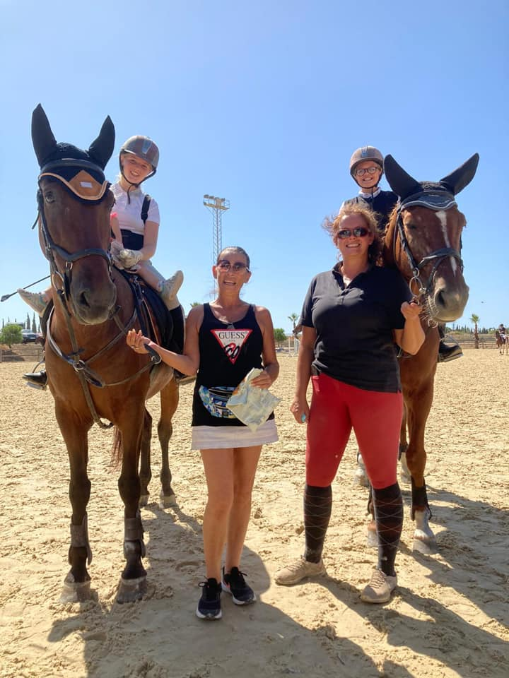 Ranch Siesta Los Rubios Estepona show jumping competition success 9