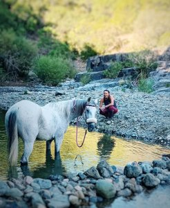 River riding horse riding Estepona